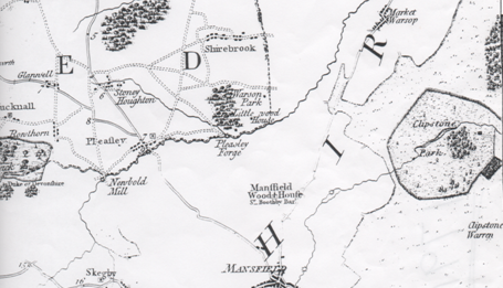 Burdett Clipstone Park 1791