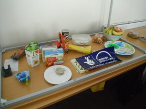 Refreshments on offer