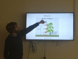 David explaining how LiDAR works.